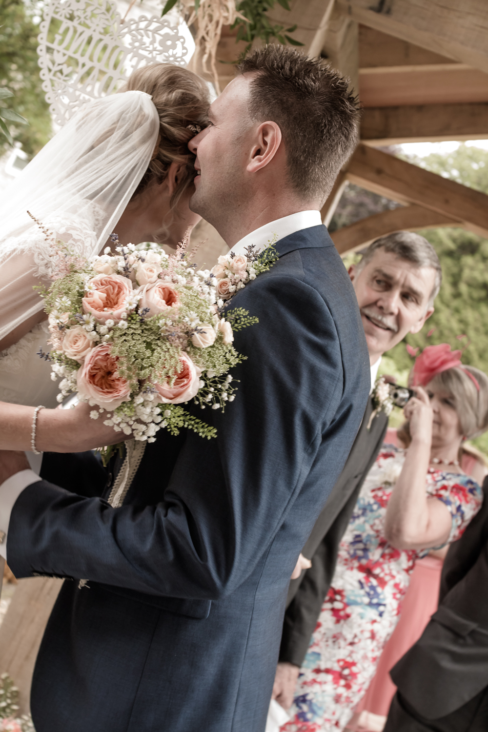 A Rustic Country Wedding at Knightor Winery - Image 14
