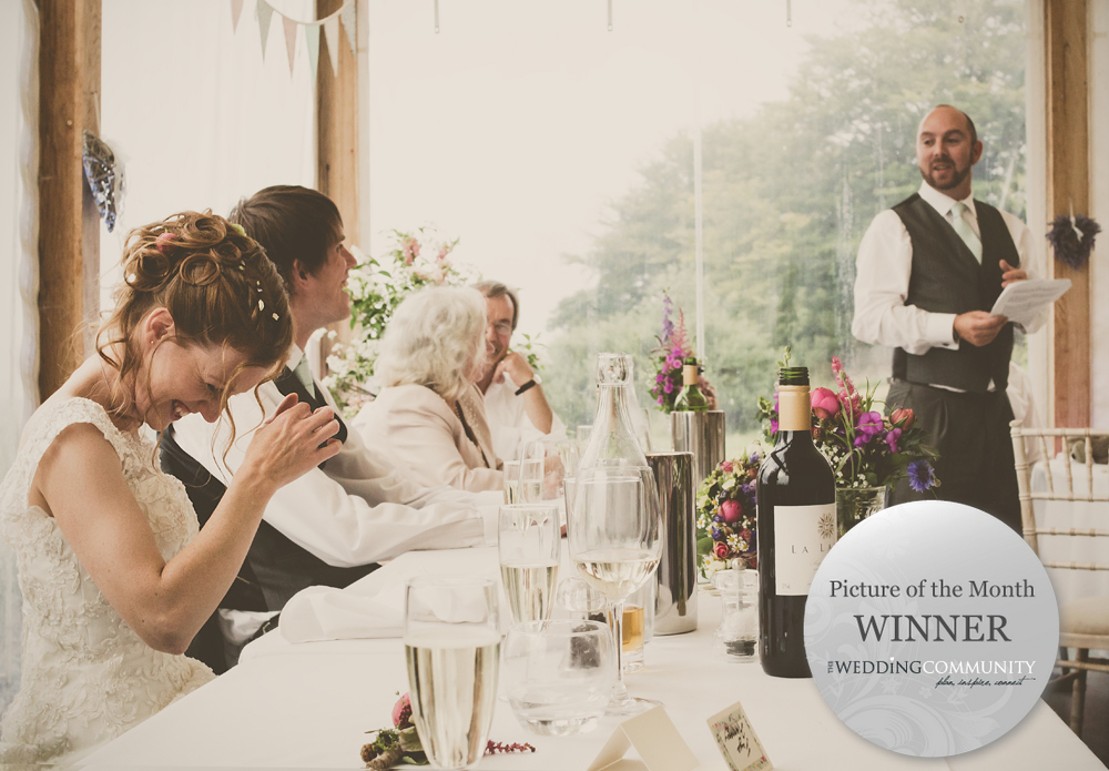 The Wedding Community Blog Press Release - Picture of the Month