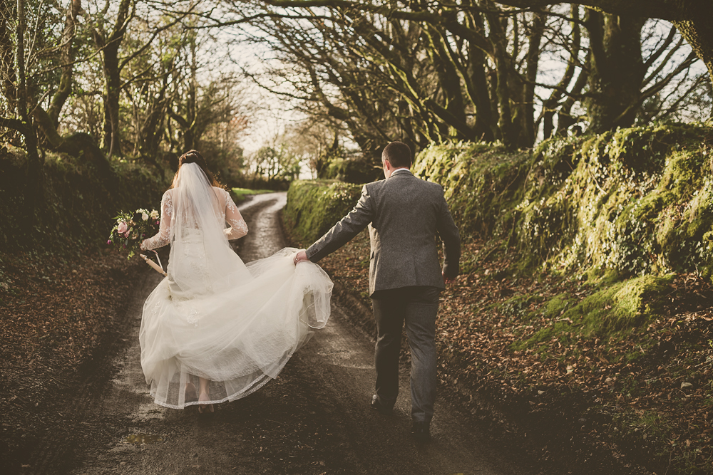 A winter wedding at Trevenna Barns in Cornwall - Image 68