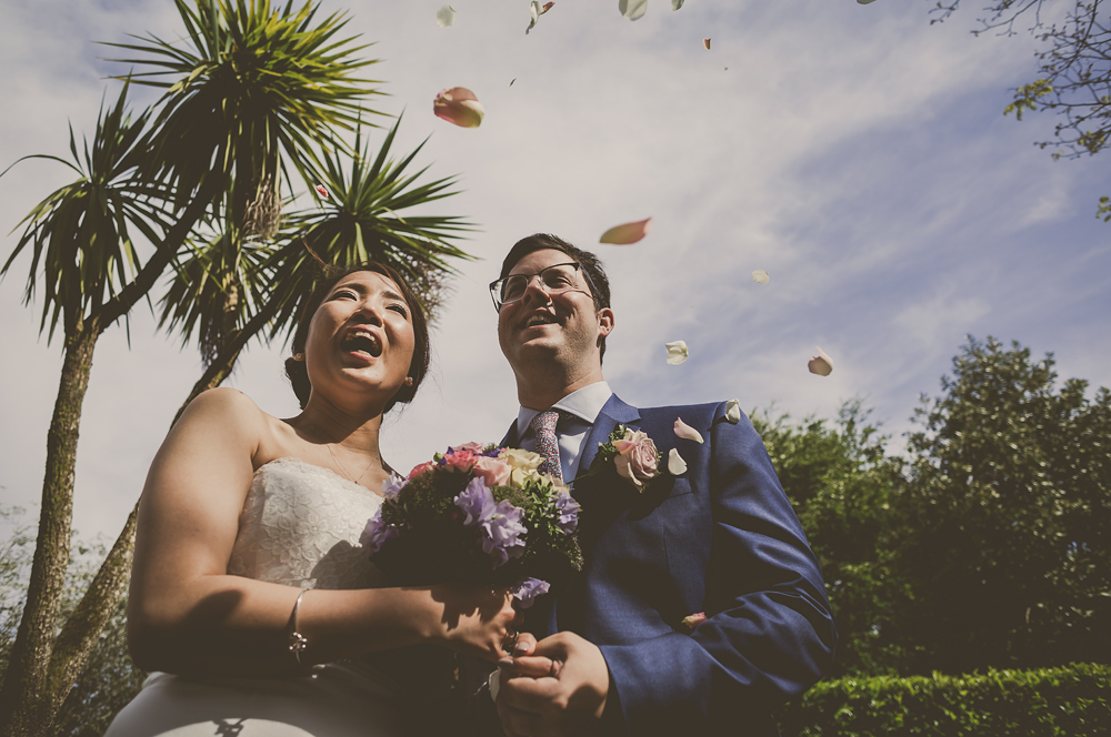 A Summer Wedding at The Lost Gardens of Heligan, Pentewan, Cornwall