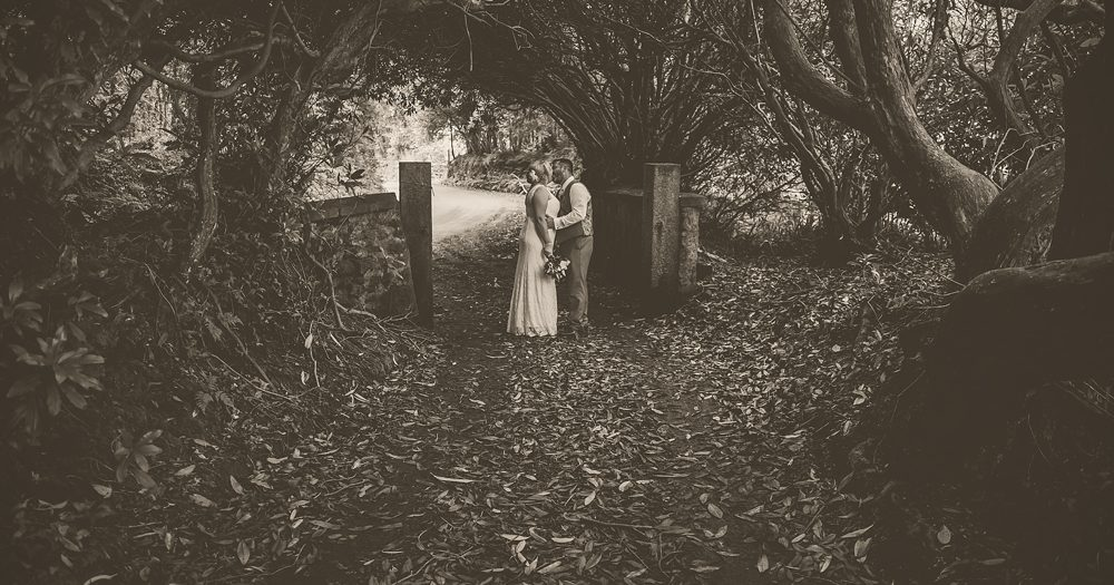 Hannah & Matt: Knightor Winery, Trethurgy, Cornwall