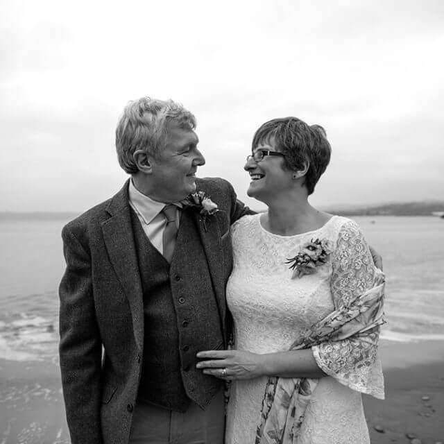 Suzanne & David's wedding at Polkerris Beach - Preview
