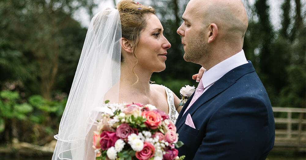 Francesca & Sam's pretty Spring wedding at The Emerald, Cornwall