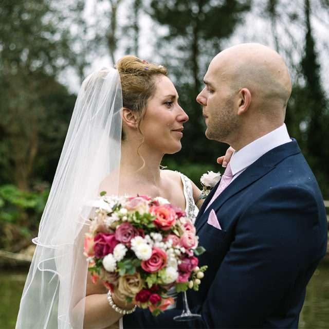 Francesca & Sam's pretty Spring wedding at The Emerald, Cornwall