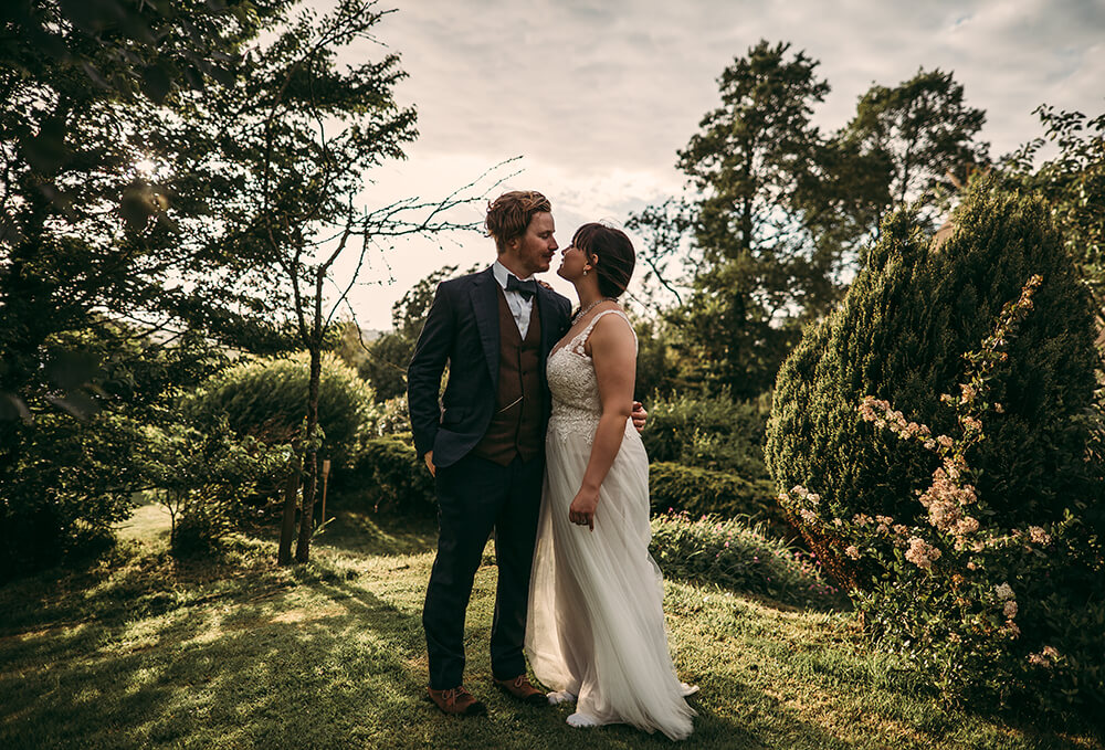 An English Country Wedding in North Cornwall