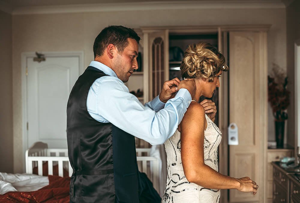 A classic, elegant wedding at The Carlyon Bay Hotel Image 2