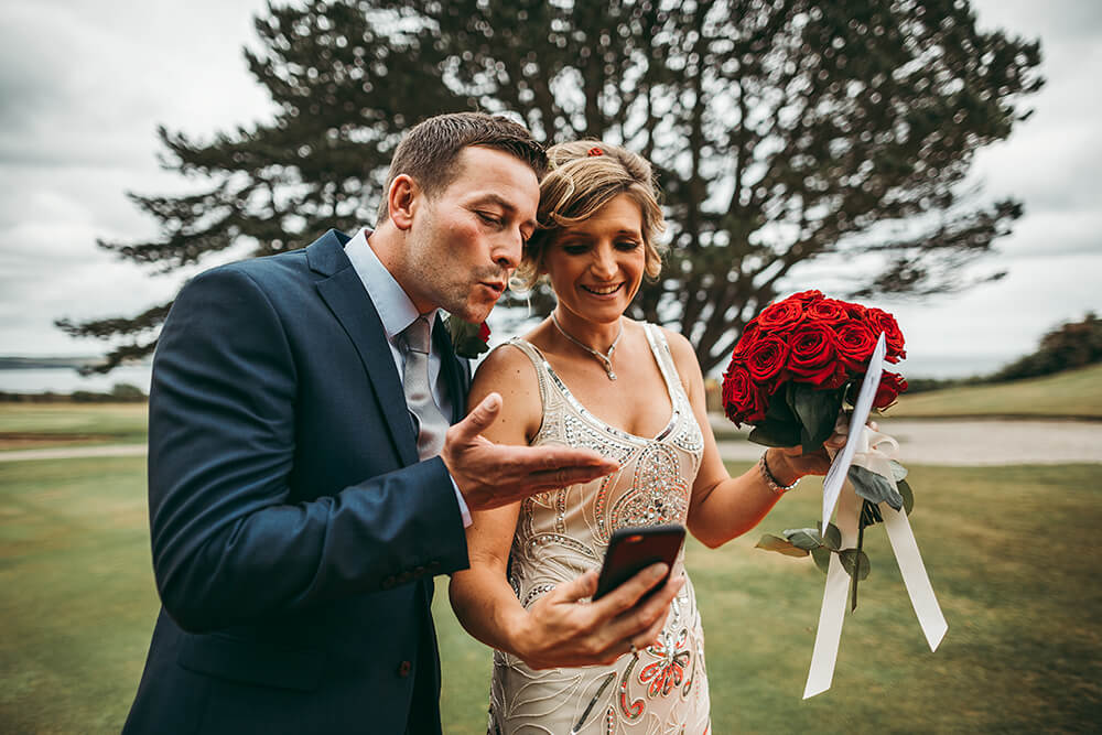 A classic, elegant wedding at The Carlyon Bay Hotel Image 22