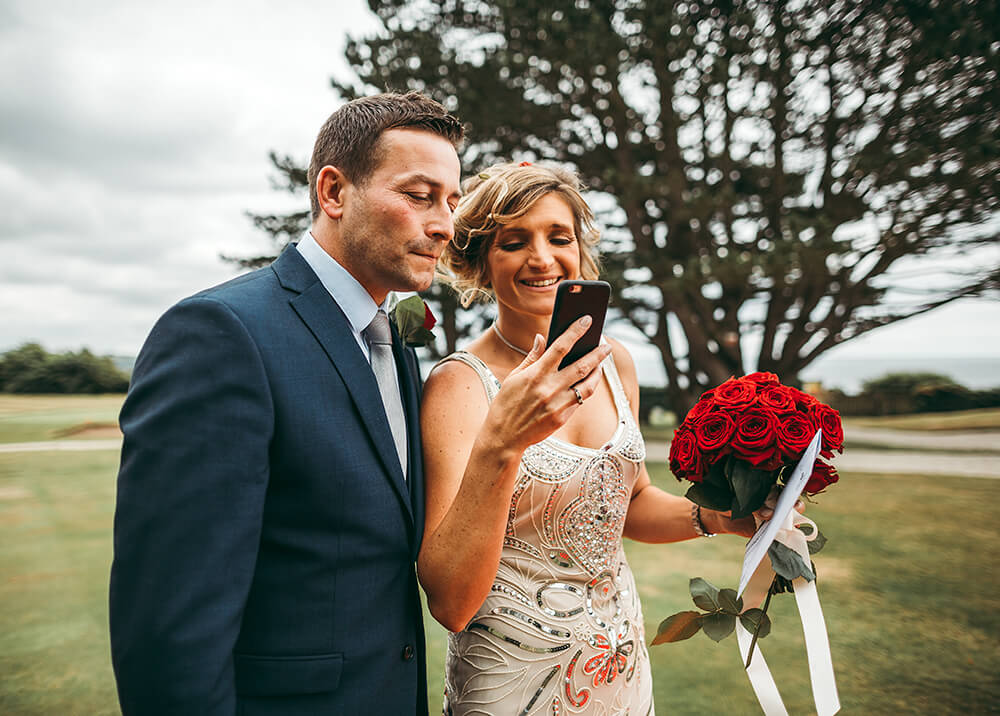 A classic, elegant wedding at The Carlyon Bay Hotel Image 25