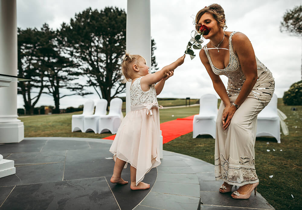 A classic, elegant wedding at The Carlyon Bay Hotel Image 27