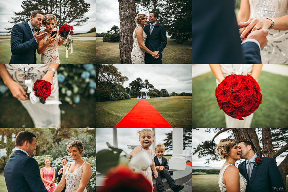 A classic, elegant wedding at The Carlyon Bay Hotel Image 36