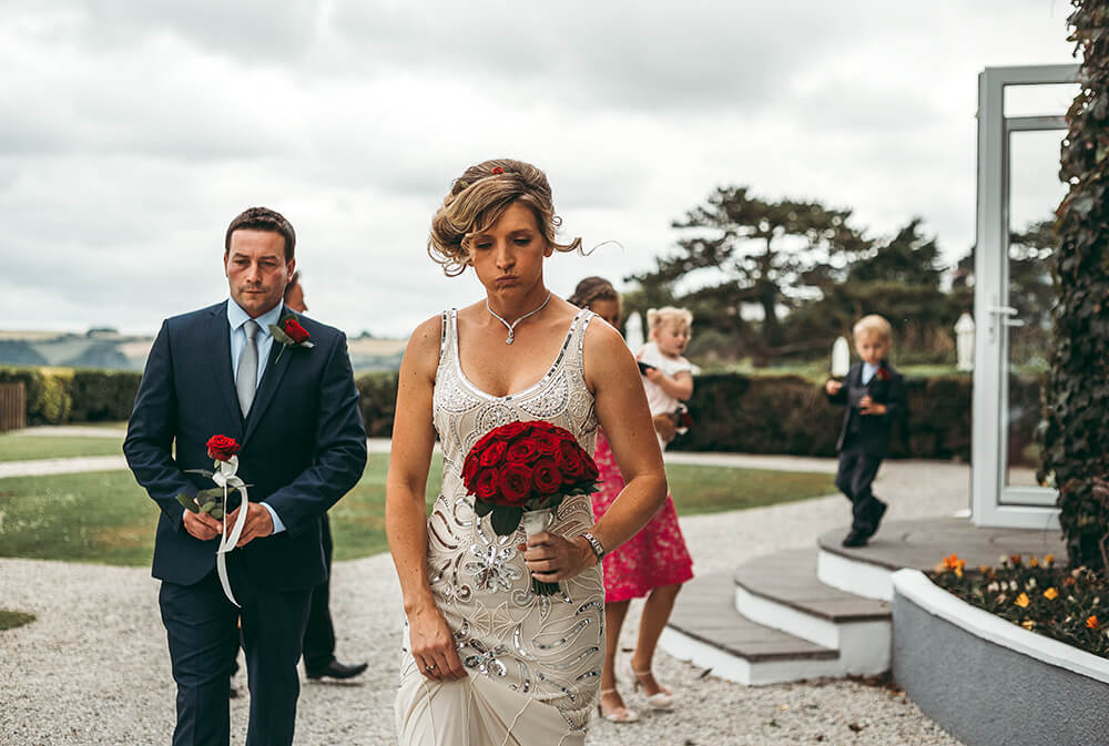 A classic, elegant wedding at The Carlyon Bay Hotel Image 8