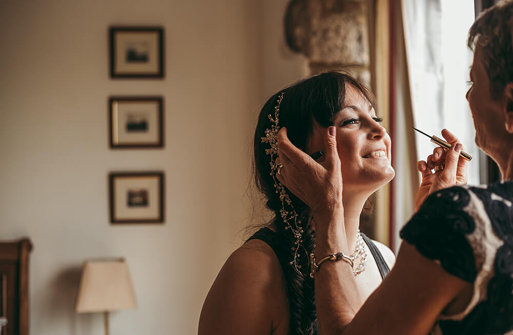 An English Country Tipi Wedding in North Cornwall Image 21 Happy Bride