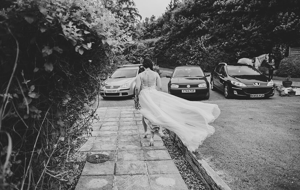 An English Country Tipi Wedding in North Cornwall Image 33 Windy