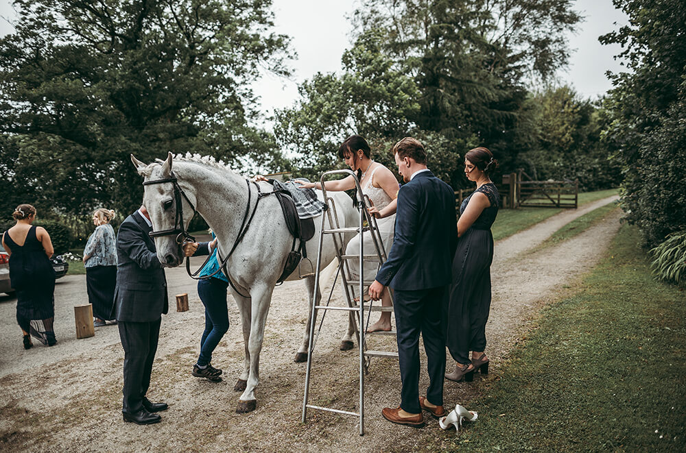An English Country Tipi Wedding in North Cornwall Image 36 Get on