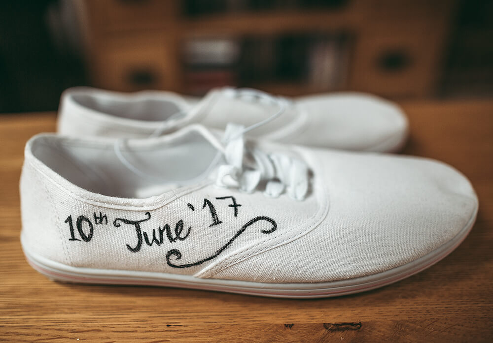 An English Country Tipi Wedding in North Cornwall Image 4 Evening shoes