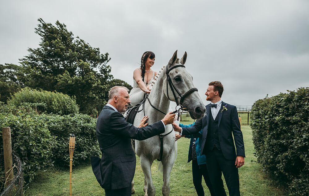 An English Country Tipi Wedding in North Cornwall Image 40 I'm here