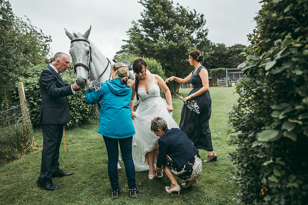 An English Country Tipi Wedding in North Cornwall Image 41 Shoes on