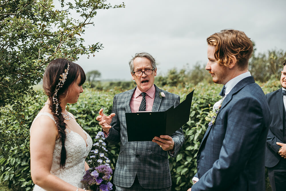 An English Country Tipi Wedding in North Cornwall Image 46 Ceremony