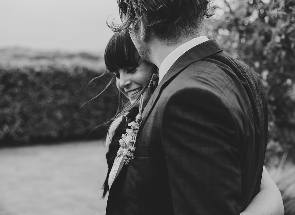 An English Country Tipi Wedding in North Cornwall Image 50 Happiness