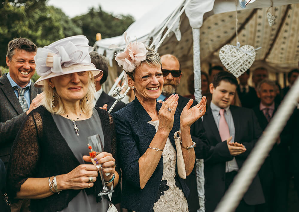 An English Country Tipi Wedding in North Cornwall Image 52 The Mothers
