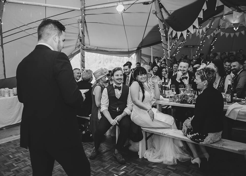 An English Country Tipi Wedding in North Cornwall Image 63 Cringe