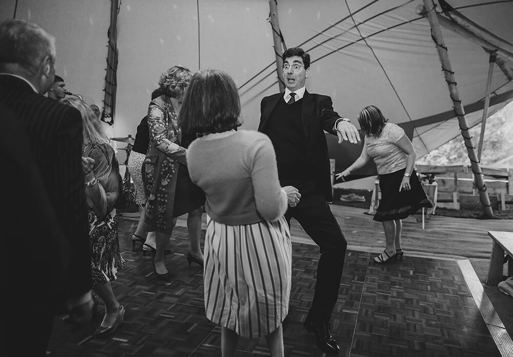 An English Country Tipi Wedding in North Cornwall Image 72 All the moves