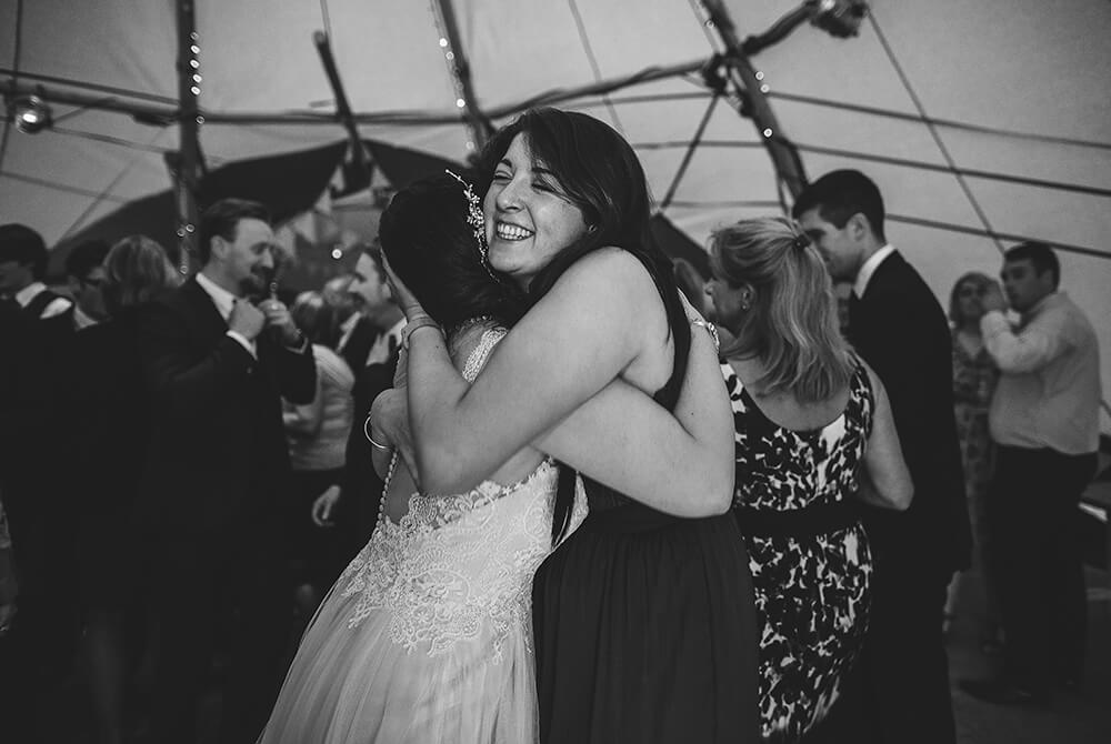 An English Country Tipi Wedding in North Cornwall Image 74 Best Friends