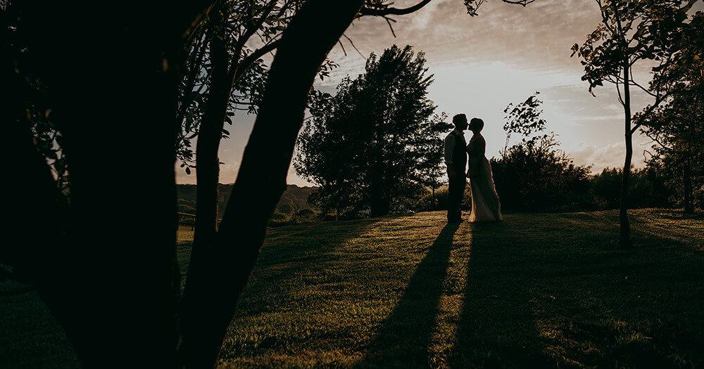 Katie & Myles - A Tipi Wedding