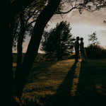 An English Country Tipi Wedding in North Cornwall Image 84 Silhouette