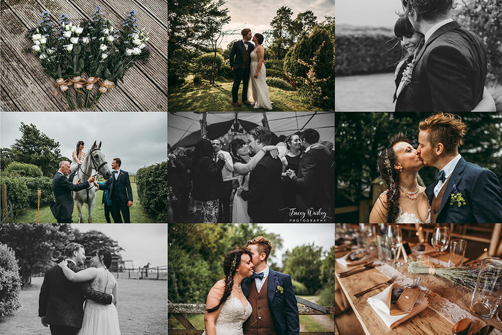 An English Country Tipi Wedding in North Cornwall Image 85 Summary