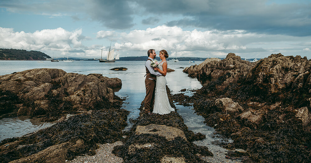 Meredith & Alex's wedding at Whitsand Bay Fort and Cawsand Bay - A Preview