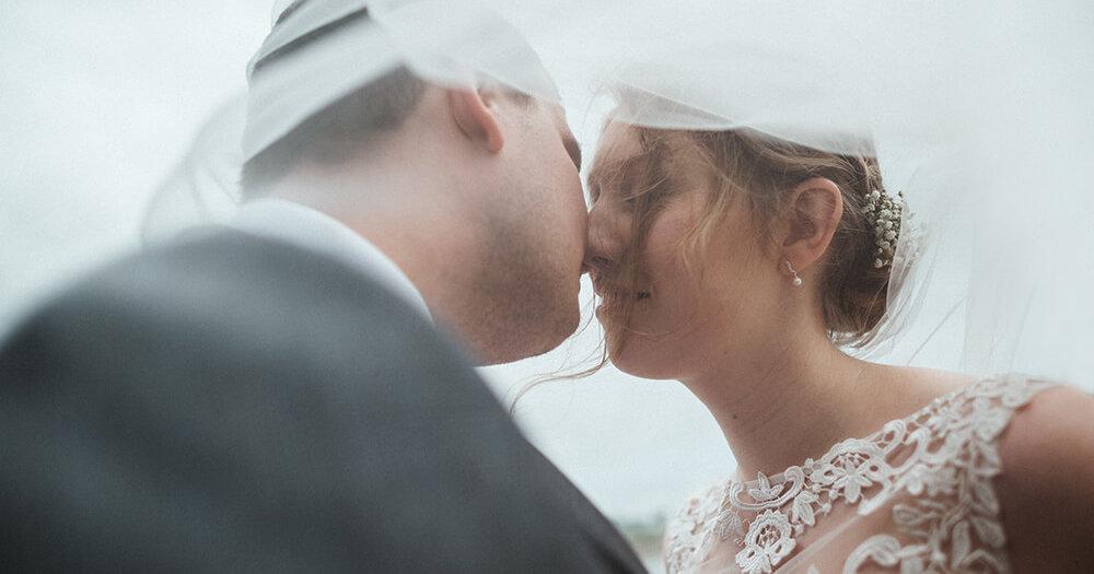 Hannah & Josh's wedding at Trevenna Barns - A Preview