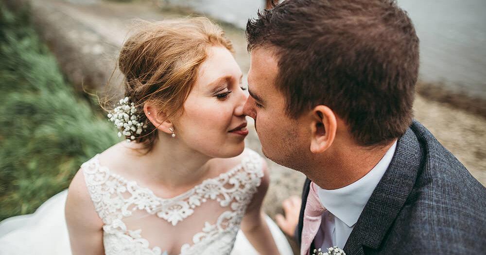 Hannah & Josh's wedding at St Dominic Parish Church and Trevenna Barns