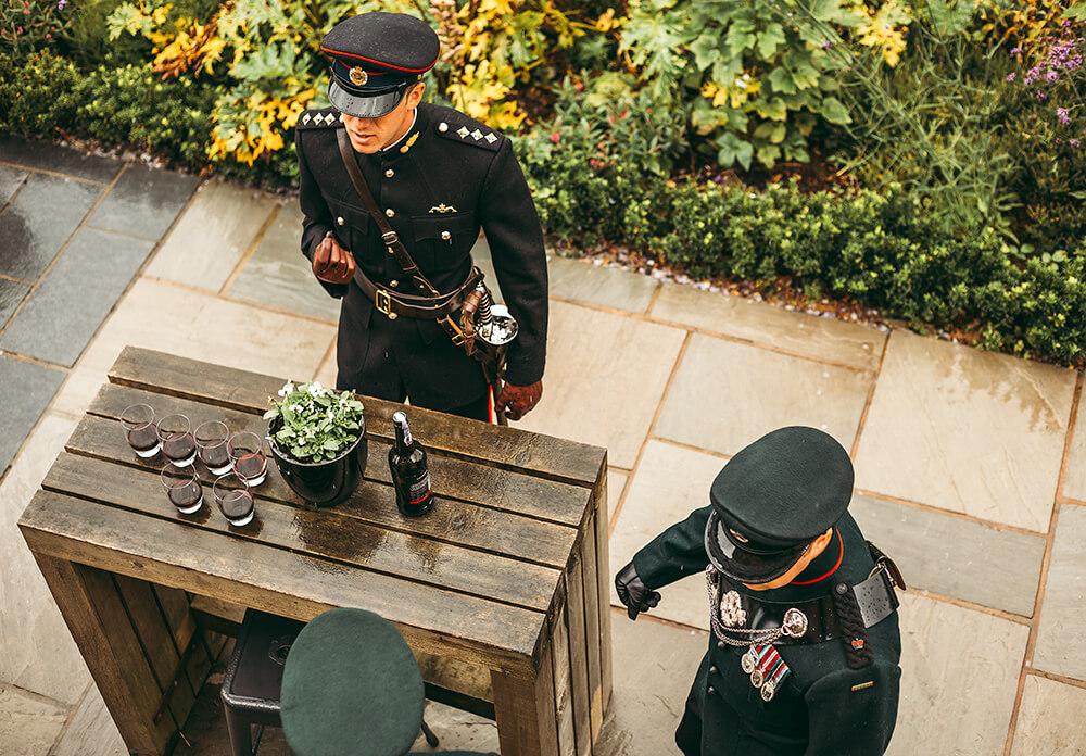 A military wedding at Trevenna Barns - Image 14