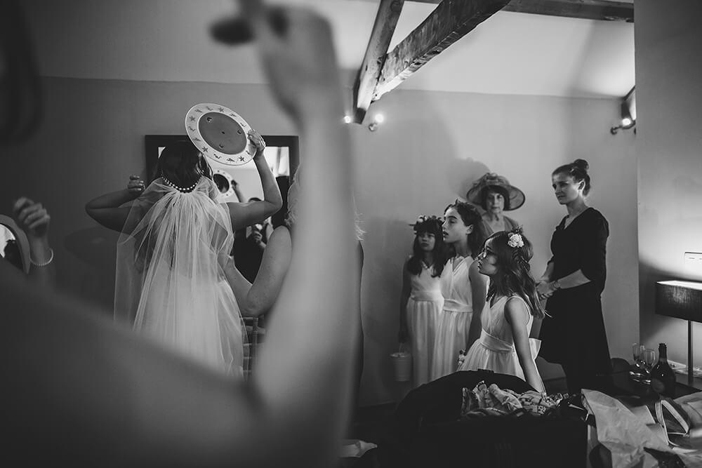 A military wedding at Trevenna Barns - Image 22