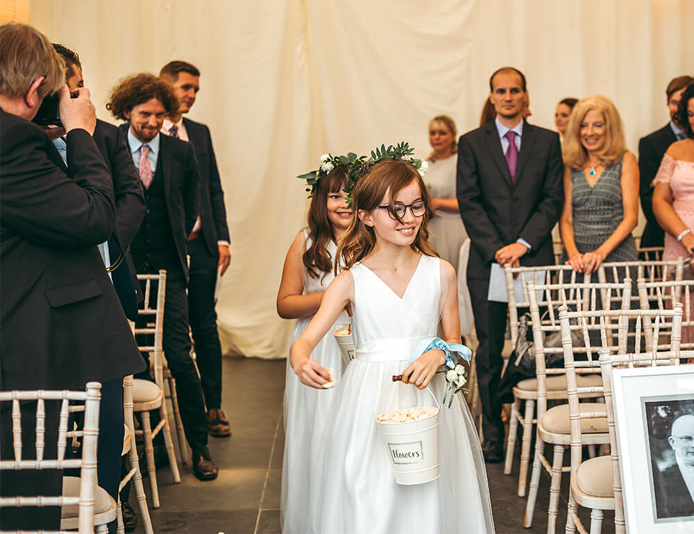 A military wedding at Trevenna Barns - Image 26