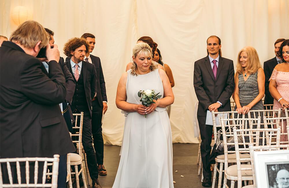 A military wedding at Trevenna Barns - Image 27