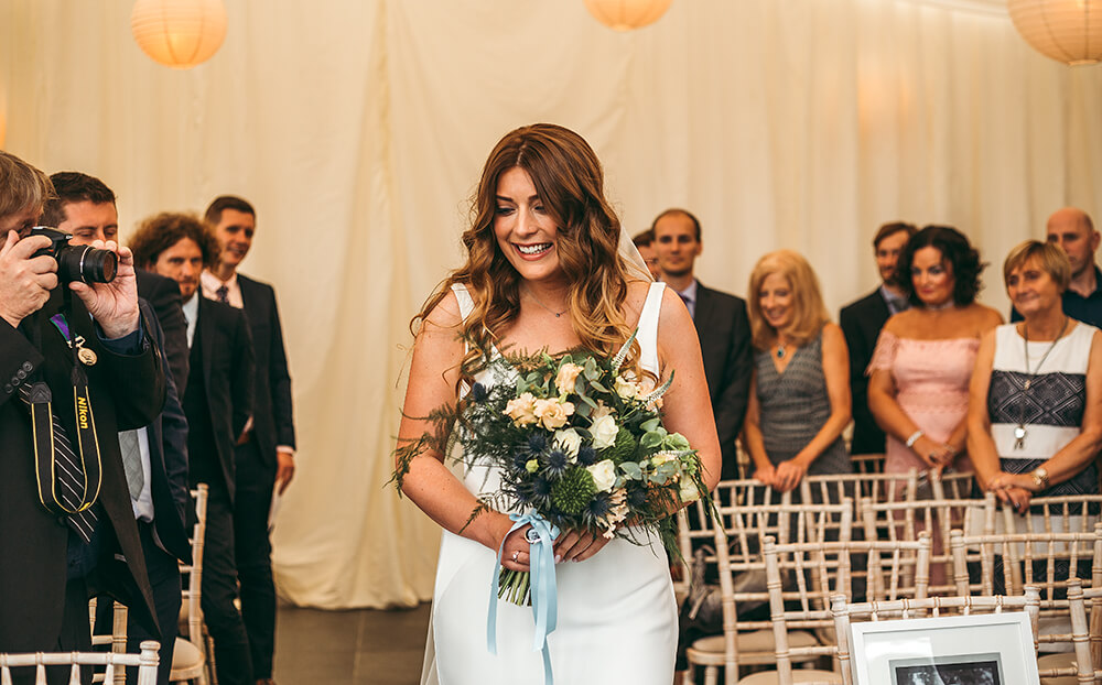 A military wedding at Trevenna Barns - Image 30