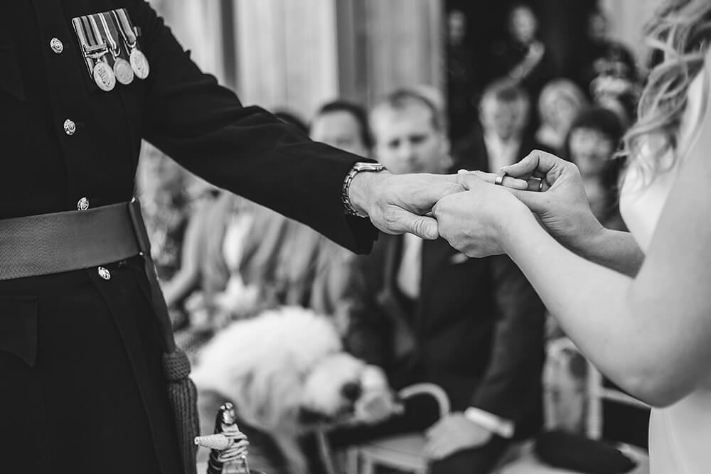 A military wedding at Trevenna Barns - Image 35