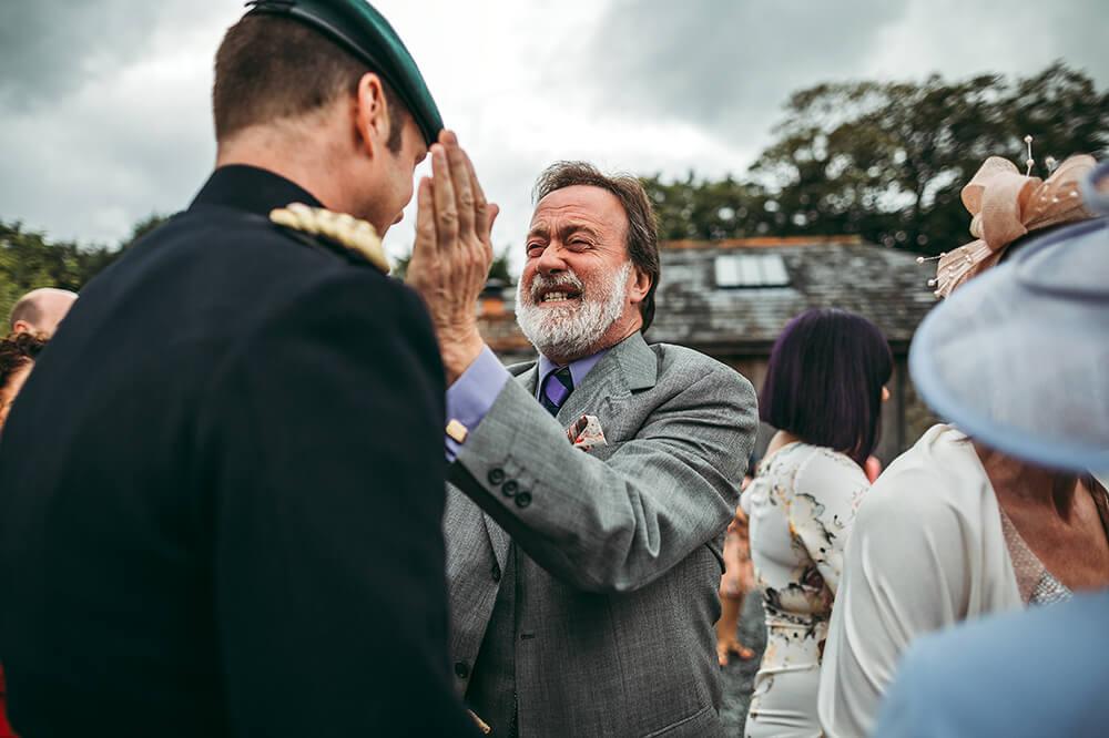 A military wedding at Trevenna Barns - Image 41