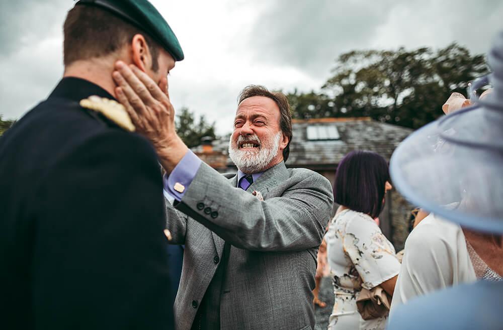 A military wedding at Trevenna Barns - Image 42