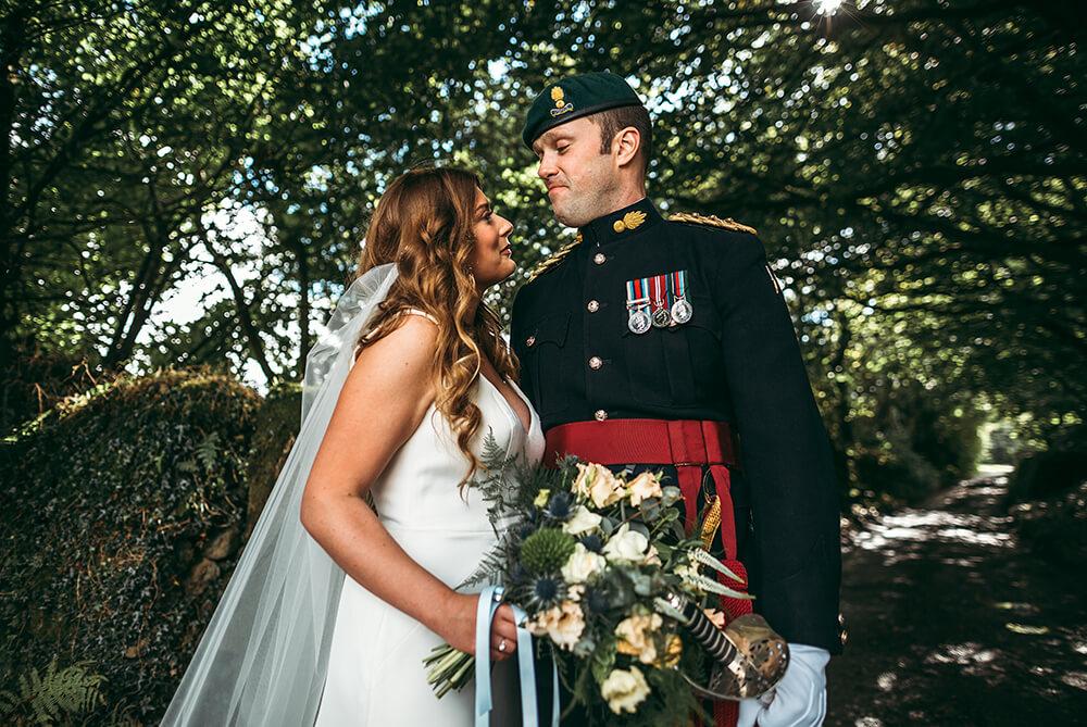 A military wedding at Trevenna Barns - Image 52