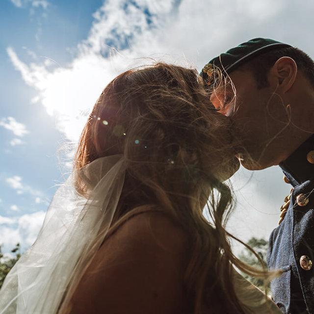 Helen & Mike's Military Wedding at Trevenna Barns