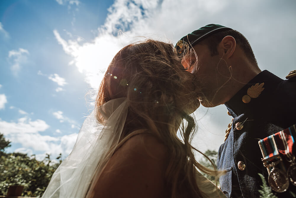 A military wedding at Trevenna Barns - Image 53