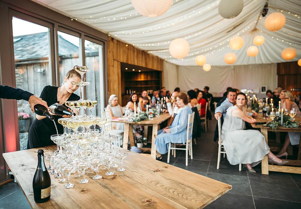 A military wedding at Trevenna Barns - Image 59