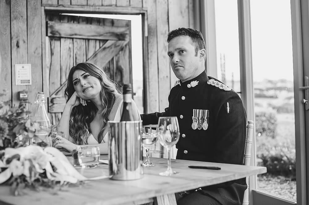 A military wedding at Trevenna Barns - Image 61
