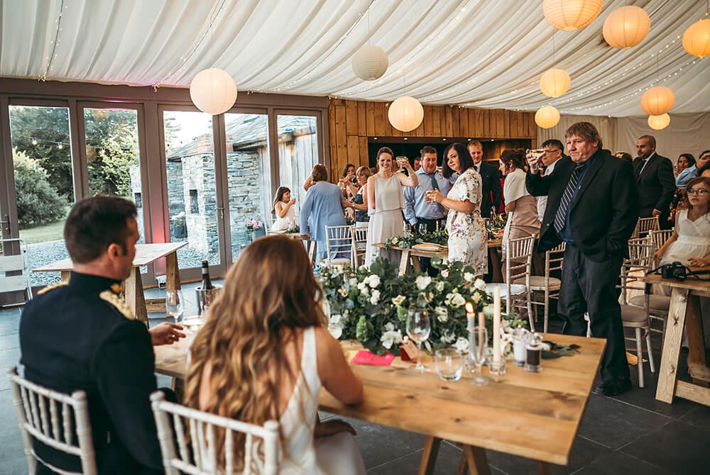 A military wedding at Trevenna Barns - Image 63