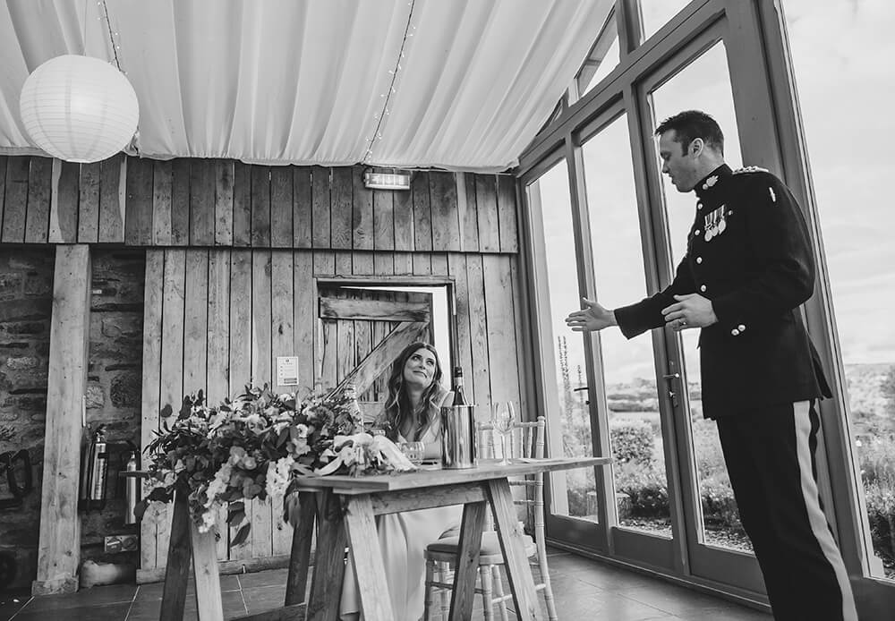 A military wedding at Trevenna Barns - Image 64