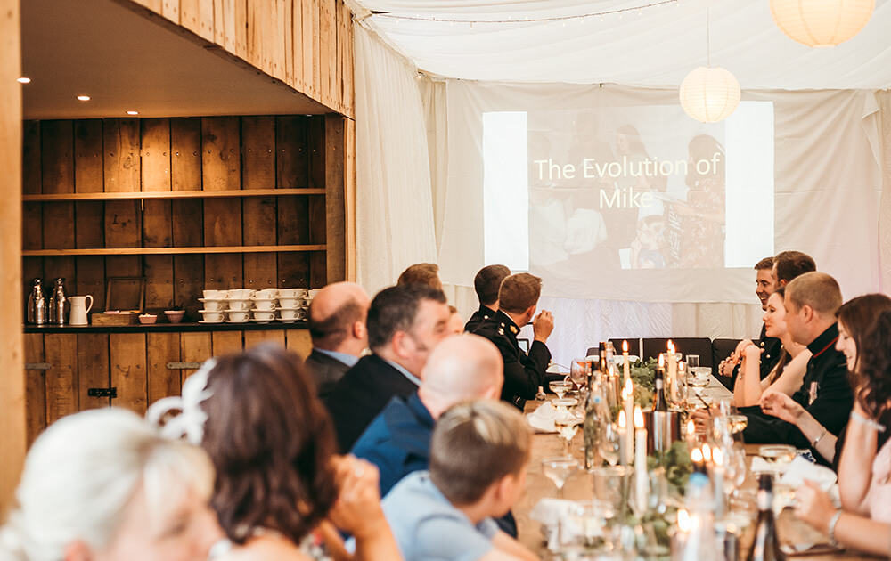 A military wedding at Trevenna Barns - Image 66