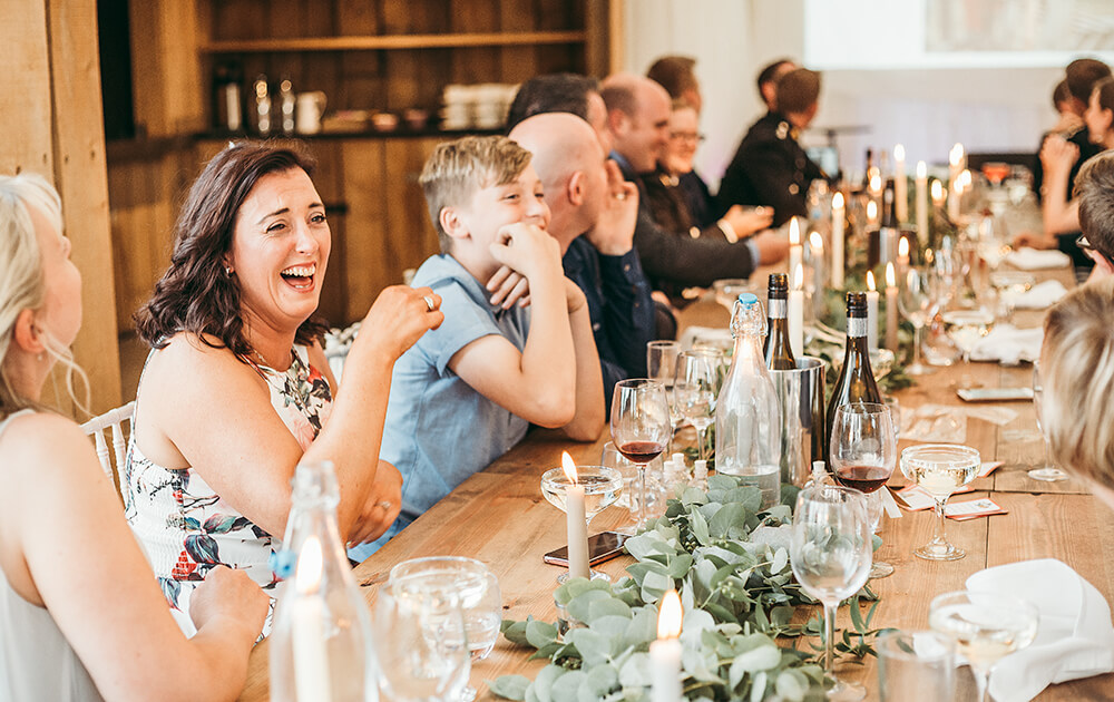 A military wedding at Trevenna Barns - Image 67